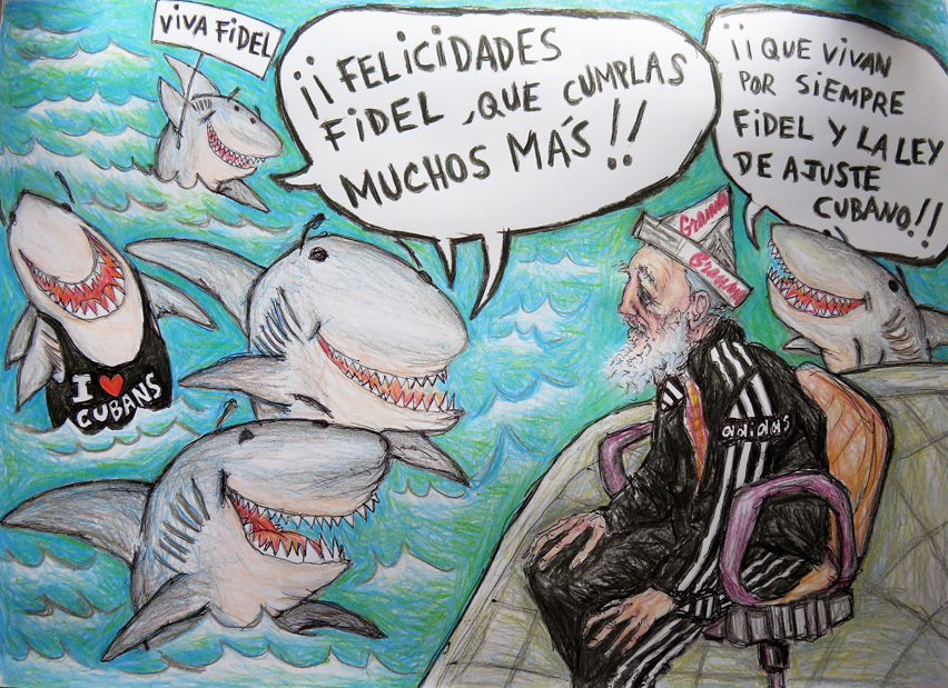 Feliz cumpleaños, Fidel http://www.havanatimes.org/sp/?p=117596