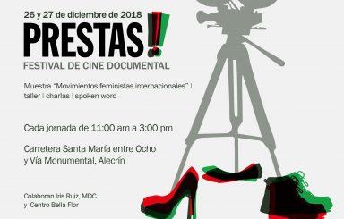 Primera edición del Festival de Cine Documental Prestas!!!