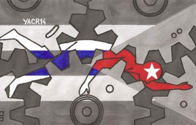 """""""Pensando en Cuba"""". Las ilustraciones de Yasser Castellanos"""